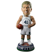 DALLAS MAVERICKS DIRK NOWITZKI 3' WHITE HWC BOBBLEHEAD