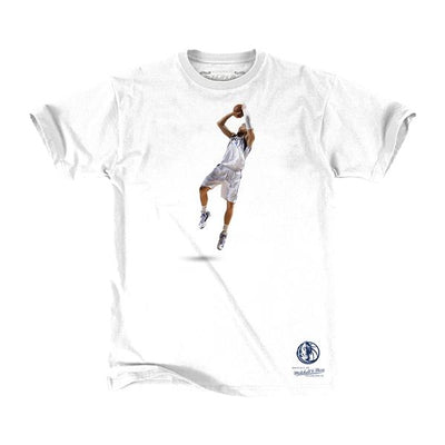 DALLAS MAVERICKS YOUTH DIRK FADEAWAY STAT TEE