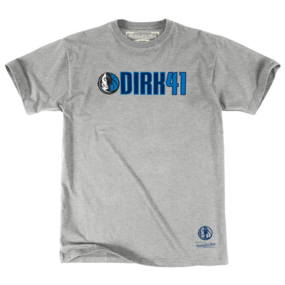 DALLAS MAVERICKS HH DIRK 41 TEE