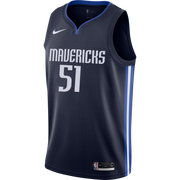 DALLAS MAVERICKS BOBAN MARJANOVIC STATEMENT SWINGMAN JERSEY