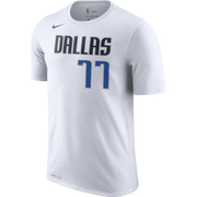 DALLAS MAVERICKS NIKE LUKA DONCIC ASSOCIATION NAME & NUMBER TEE
