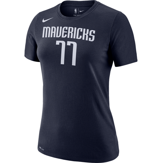 DALLAS MAVERICKS WOMEN'S LUKA DONČIĆ STATEMENT NAME & NUMBER TEE