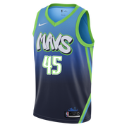DALLAS MAVERICKS RYAN BROEKHOFF CITY EDITION 19-20 SWINGMAN JERSEY