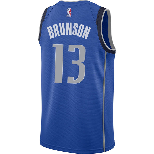 DALLAS MAVERICKS JALEN BRUNSON NIKE ICON SWINGMAN JERSEY