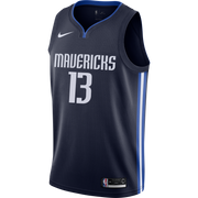DALLAS MAVERICKS JALEN BRUNSON STATEMENT SWINGMAN JERSEY
