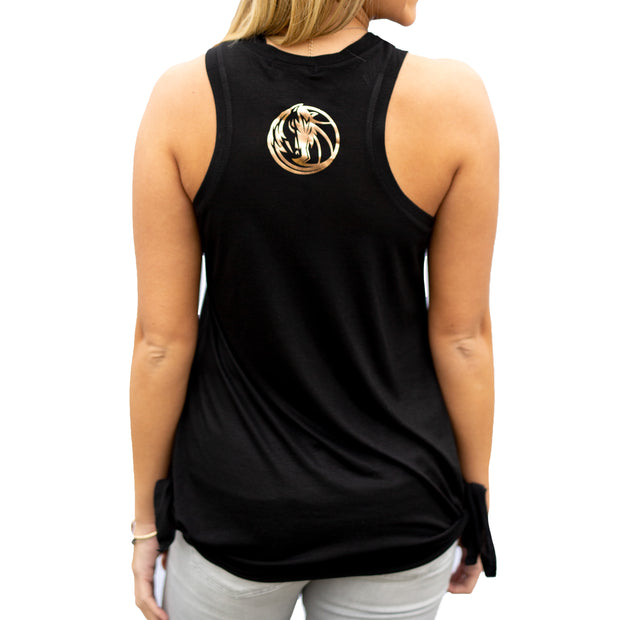 DALLAS MAVERICKS WOMENS GOOD VIBES TANK