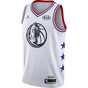 DALLAS MAVERICKS 2019 DIRK NOWITZKI ALL-STAR EDITION SWINGMAN JERSEY - WHITE