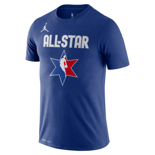 DALLAS MAVERICKS LUKA DONCIC ALL-STAR 2020 BLUE PLAYER TEE