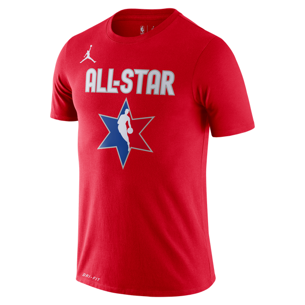 DALLAS MAVERICKS LUKA DONCIC ALL-STAR 2020 RED PLAYER TEE
