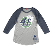 DALLAS MAVERICKS WOMENS HWC DIRK 41 RAGLAN