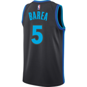 DALLAS MAVERICKS JJ BAREA NIKE CITY EDITION 2018-2019 SWINGMAN JERSEY