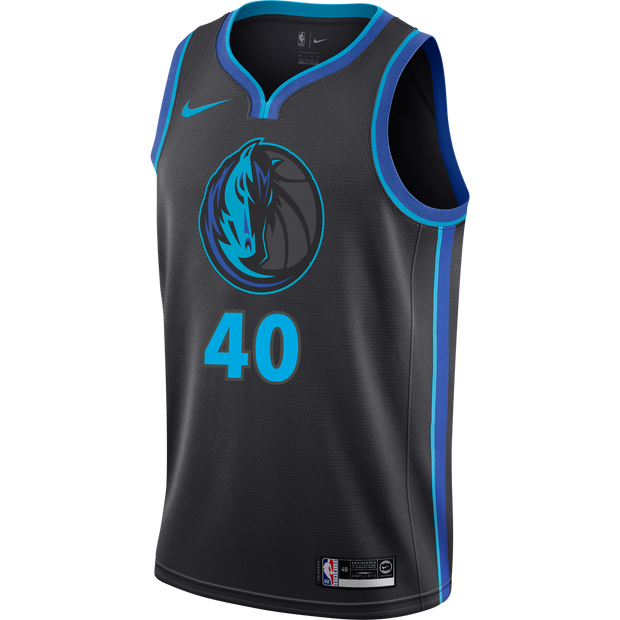 DALLAS MAVERICKS HARRISON BARNES NIKE CITY EDITION 2018-2019 SWINGMAN JERSEY