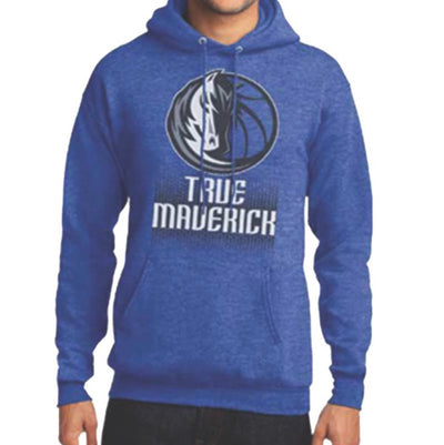 DALLAS MAVERICKS TRUE MAVERICK ROYAL HOODIE