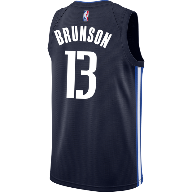 DALLAS MAVERICKS JALEN BRUNSON 20-21 STATEMENT SWINGMAN JORDAN BRAND JERSEY