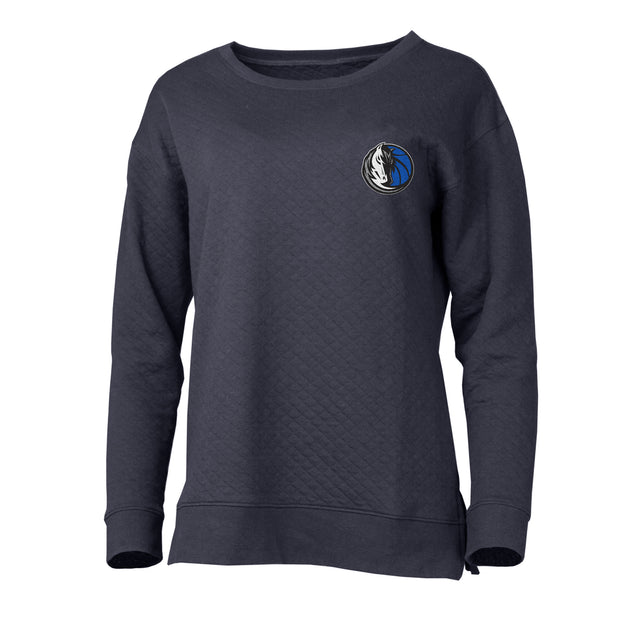 DALLAS MAVERICKS WOMEN'S LUNAR HORSE HEAD QUILTED LONG SLEEVE TOP