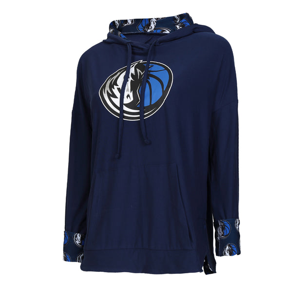 DALLAS MAVERICKS FAIRWAY LONG SLEEVE HOODED TOP
