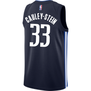 DALLAS MAVERICKS WILLIE CAULEY-STEIN 20-21 STATEMENT SWINGMAN JORDAN BRAND JERSEY