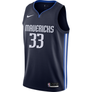 DALLAS MAVERICKS WILLIE CAULEY-STEIN STATEMENT SWINGMAN JERSEY
