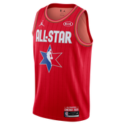 DALLAS MAVERICKS LUKA DONČIĆ ALL-STAR 2020 RED SWINGMAN JERSEY