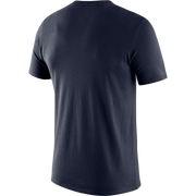 DALLAS MAVERICKS NIKE ESSENTIAL LOGO NAVY TEE