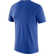 DALLAS MAVERICKS NIKE ESSENTIAL LOGO ROYAL TEE