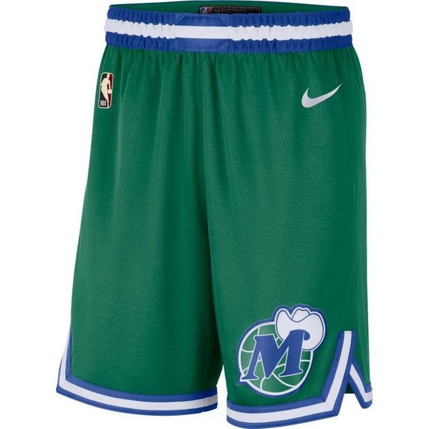 DALLAS MAVERICKS NIKE 20-21 HARDWOOD CLASSIC SWINGMAN SHORTS