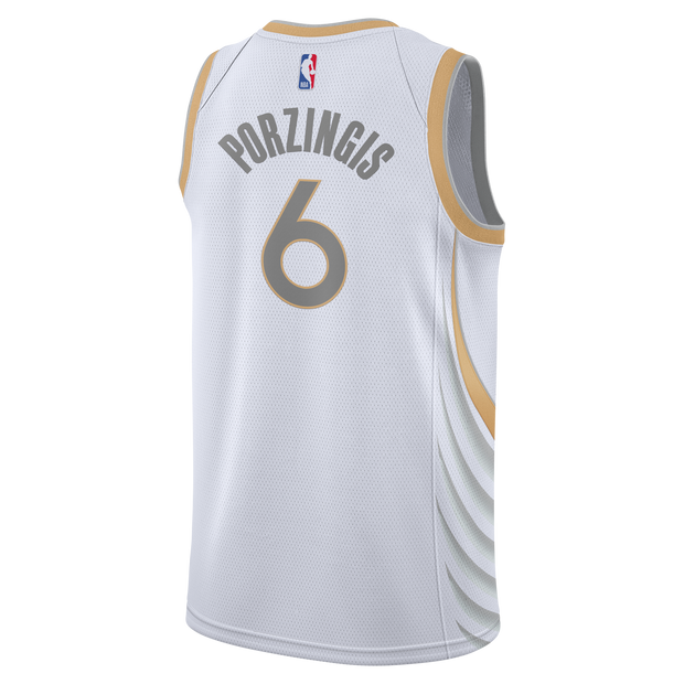 DALLAS MAVERICKS NIKE KRISTAPS PORZINGIS 20-21 CITY EDITION SWINGMAN JERSEY