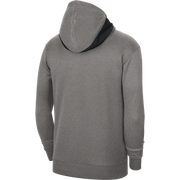 DALLAS MAVERICKS NIKE GRAY SPOTLIGHT PRACTICE HOODIE