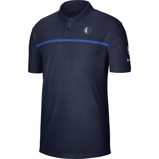 DALLAS MAVERICKS NIKE STATEMENT NAVY POLO