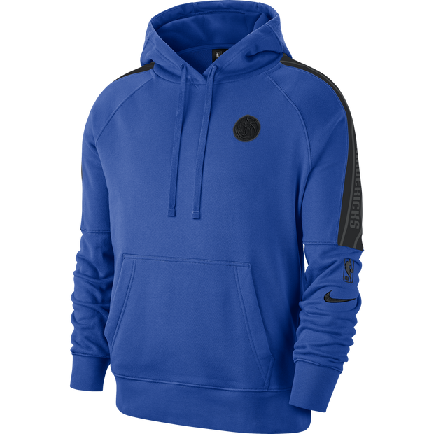 DALLAS MAVERICKS NIKE COURTSIDE ROYAL HOODIE