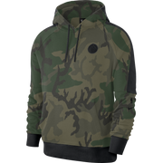DALLAS MAVERICKS NIKE COURTSIDE CAMO HOODIE