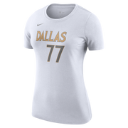 DALLAS MAVERICKS NIKE WOMEN'S LUKA DONČIĆ 20-21 CITY EDITION NAME & NUMBER TEE