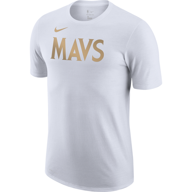 DALLAS MAVERICKS NIKE CITY EDITION 20-21 MAVS LOGO TEE