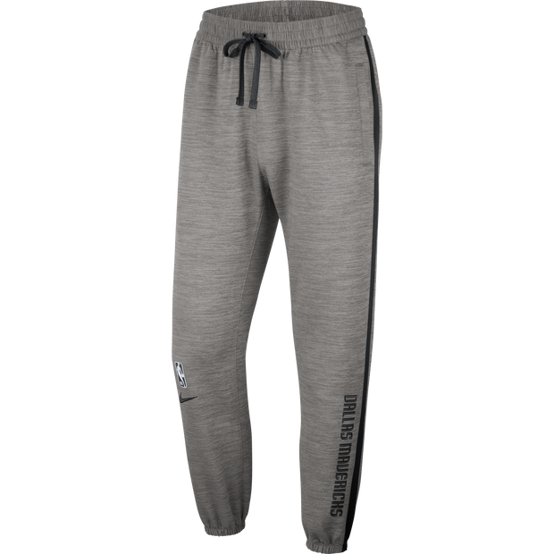 DALLAS MAVERICKS NIKE ON COURT GRAY SHOWTIME PANT
