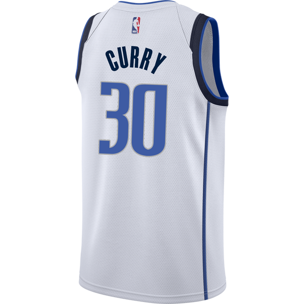 DALLAS MAVERICKS SETH CURRY ASSOCIATION SWINGMAN JERSEY