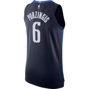 DALLAS MAVERICKS KRISTAPS PORZINGIS 20-21 STATEMENT AUTHENTIC JORDAN BRAND JERSEY