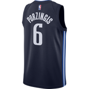 DALLAS MAVERICKS KRISTAPS PORZINGIS 20-21 STATEMENT SWINGMAN JORDAN BRAND JERSEY
