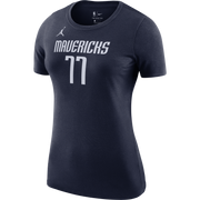 DALLAS MAVERICKS WOMEN'S LUKA DONČIĆ STATEMENT JORDAN BRAND NAME & NUMBER TEE