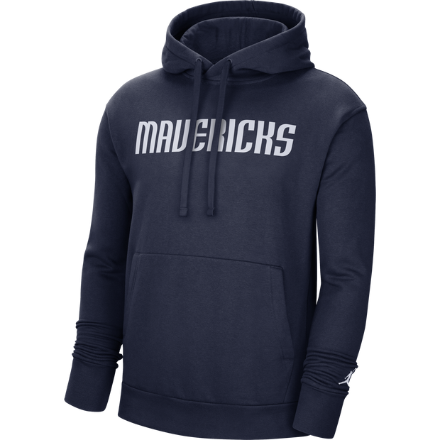 DALLAS MAVERICKS JORDAN BRAND ESSENTIAL WORDMARK STATEMENT HOODIE
