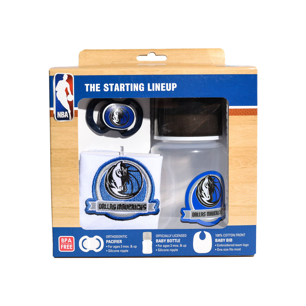 DALLAS MAVERICKS INFANT 3 PIECE GIFT SET