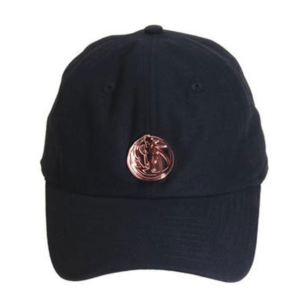 DALLAS MAVERICKS HH METAL BLACK DAD CAP