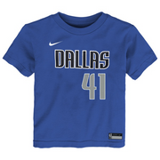 DALLAS MAVERICKS TODDLER DIRK ICON N&N TEE