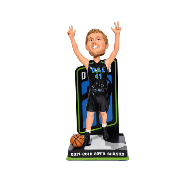 DALLAS MAVERICKS - 1 - 20TH DIRK NOWTIZKI BOBBLE