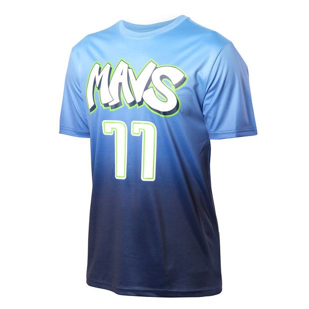 DALLAS MAVERICKS CITY EDITION 19-20 LUKA DONČIĆ NAME & NUMBER TEE