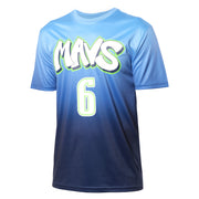 DALLAS MAVERICKS CITY EDITION 19-20 KRISTAPS PORZINGIS NAME & NUMBER TEE