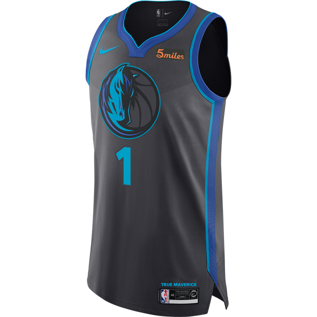 DALLAS MAVERICKS DSJ NIKE CITY EDITION 2018-2019 AUTHENTIC JERSEY