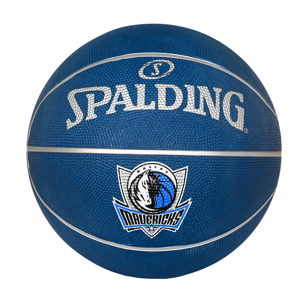 DALLAS MAVERICKS B7 SHIELD GLOW RUBBER BALL