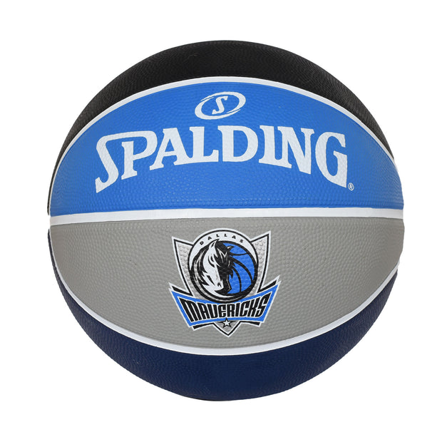 DALLAS MAVERICKS B7 ALTERNATE PANEL RUBBER BASKETBALL