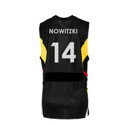DALLAS MAVERICKS MENS PEAK SPORT DIRK NOWITZKI GERMANY NUMBER 14 JERSEY