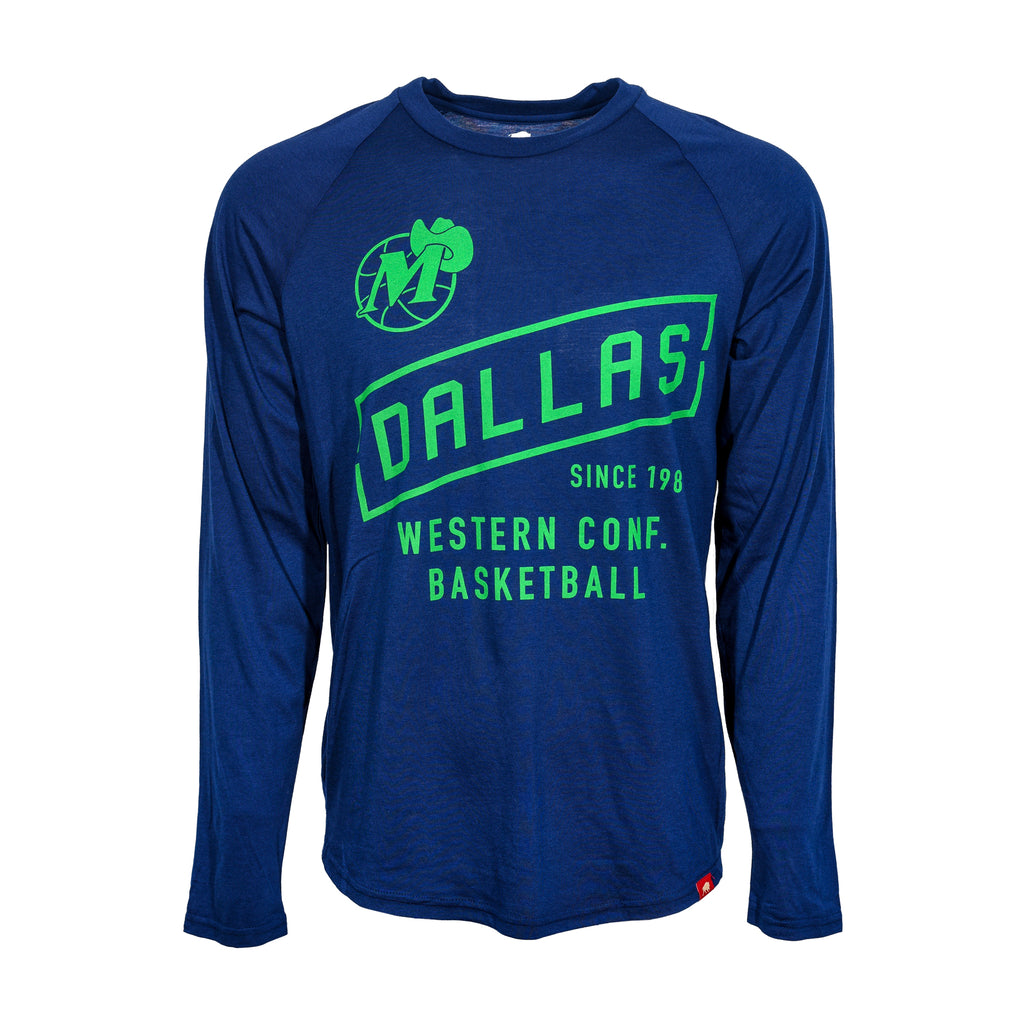 DALLAS MAVERICKS MENS SPORTIQE CLAYTON FRYE LONG SLEEVE TEE
